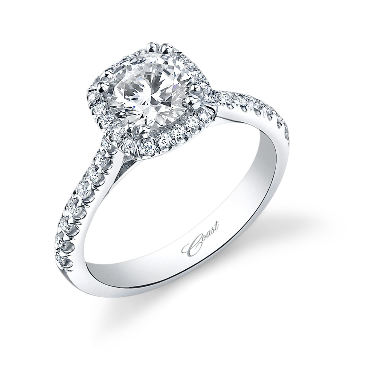 Charisma Engagement Ring - Beautiful Halo